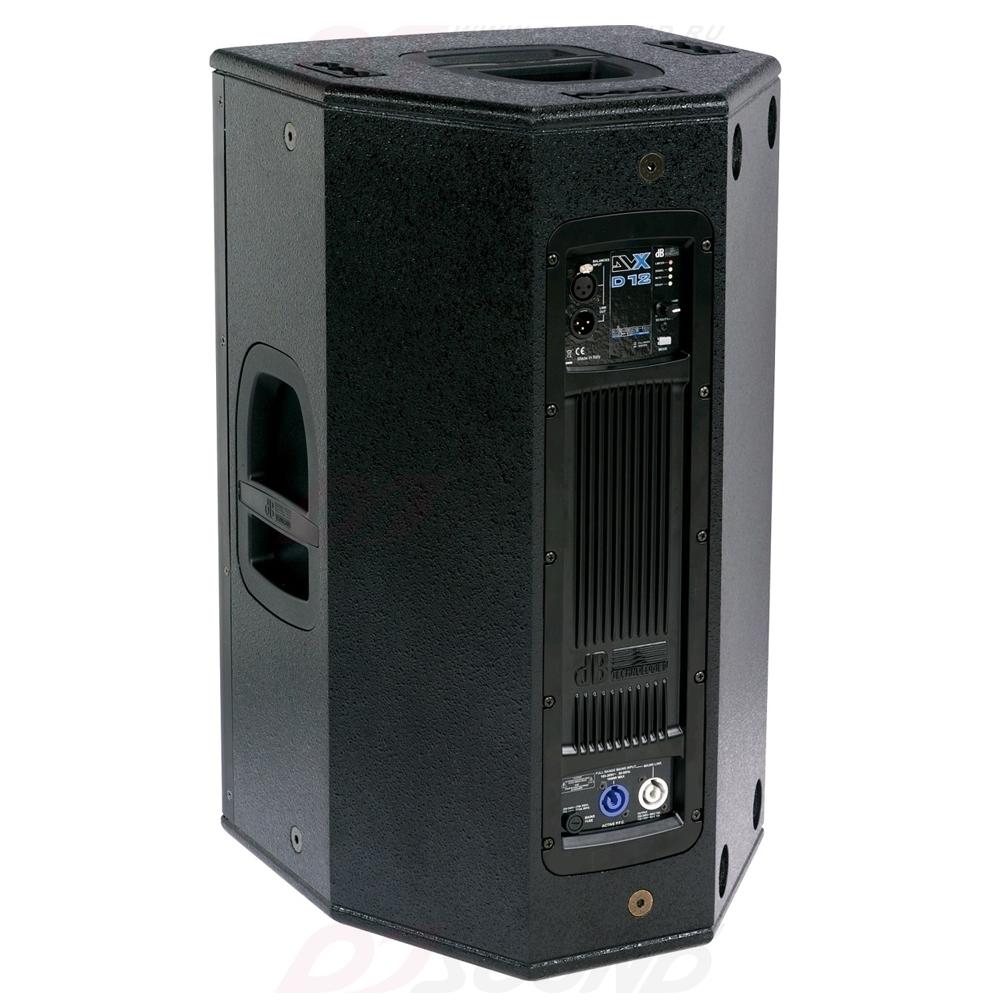 Активная акустическая система dBTechnologies DVX D12 HP