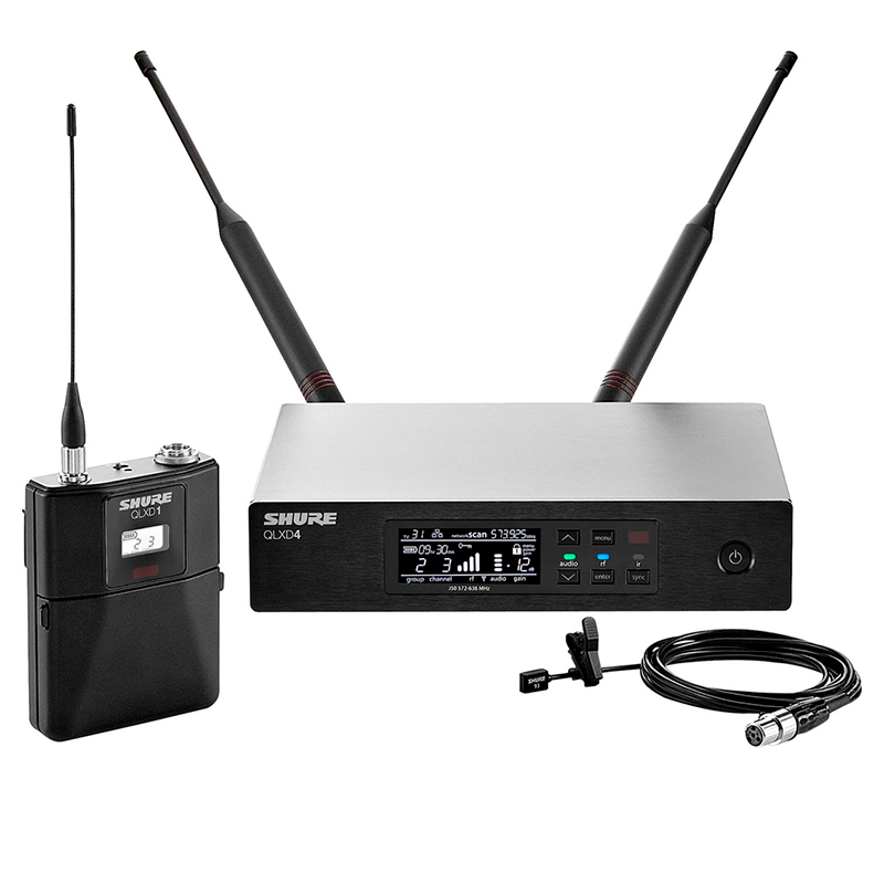 Радиосистема Shure QLXD14E/150/C-Q51