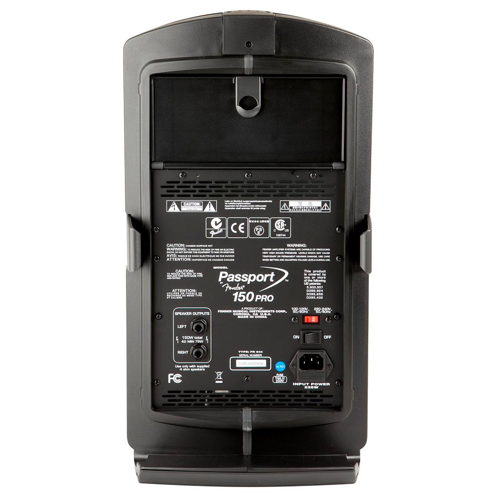 Портавтивная акустика FENDER PASSPORT 150 PRO