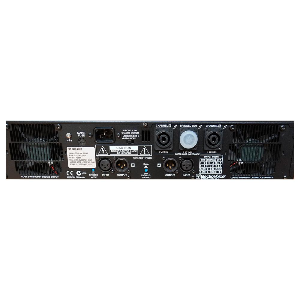 Усилитель мощности Electro-Voice CP2200