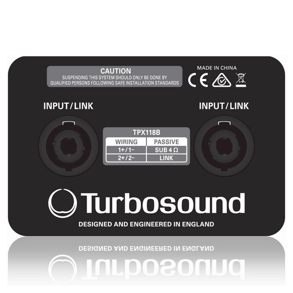 Сабвуфер Turbosound Performer TPX118B