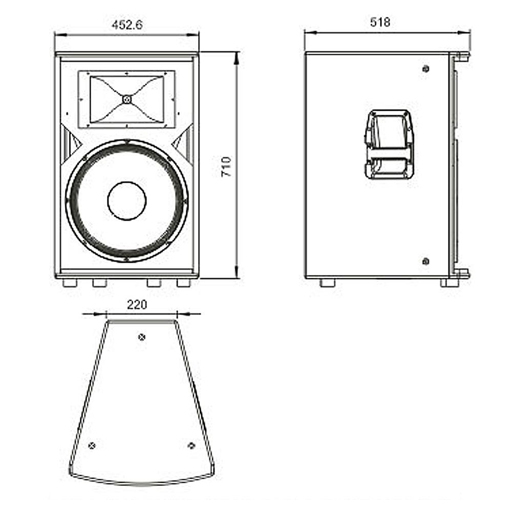 Пассивная акустическая система SoundKing KA15