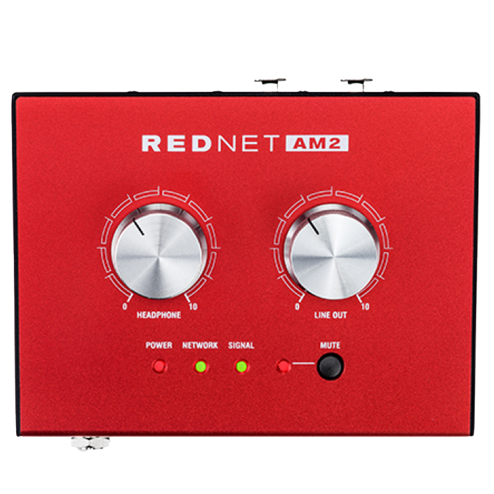 Усилитель для наушников Focusrite Pro RedNet AM2