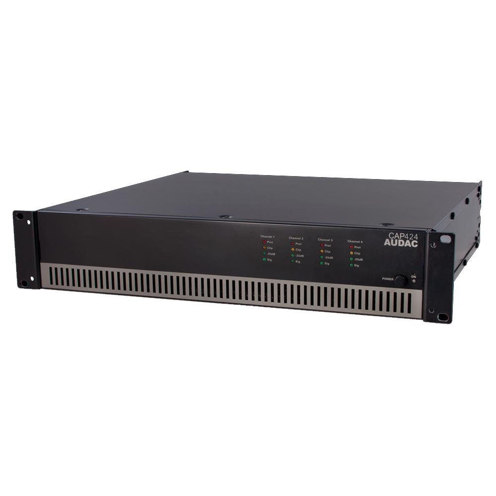 4-х канальный усилитель мощности Audac CAP424