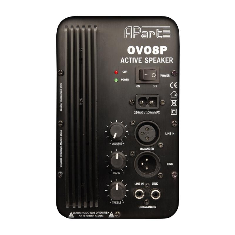 Настенный громкоговоритель Apart OVO8P-BL