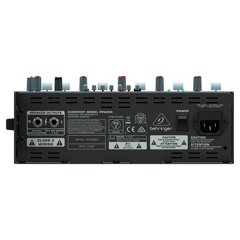 Мобильный комплект Behringer PPA200
