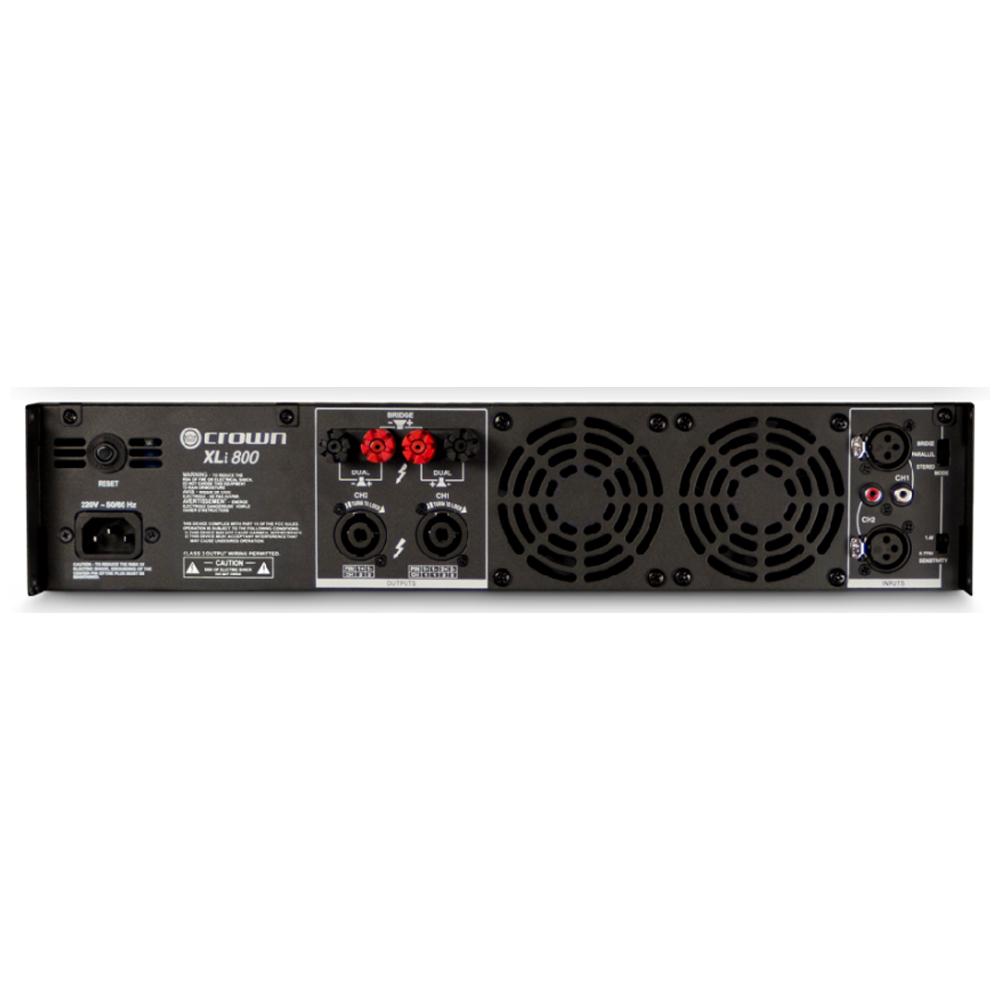 Двухканальный усилитель мощности звука CROWN XLI 800