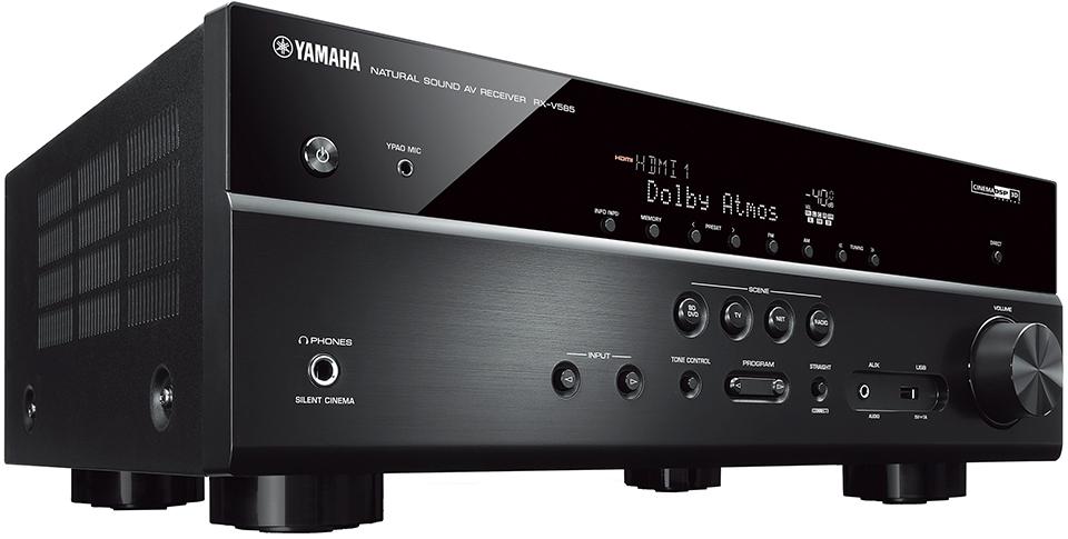 AV ресивер Yamaha RX-V585 BLACK