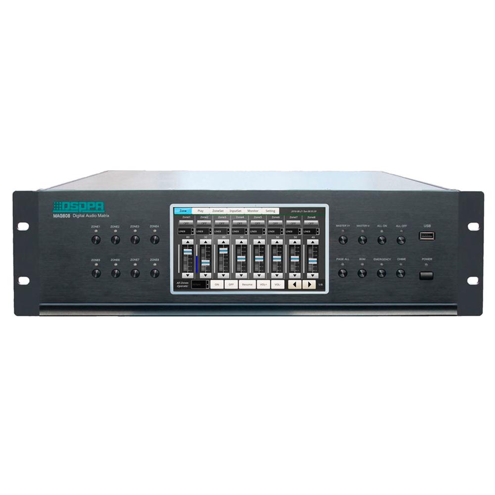 Цифровая аудиоматрица DSPPA MAG808