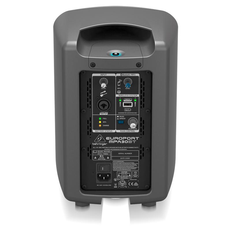 Активная акустика Behringer EUROPORT MPA30BT