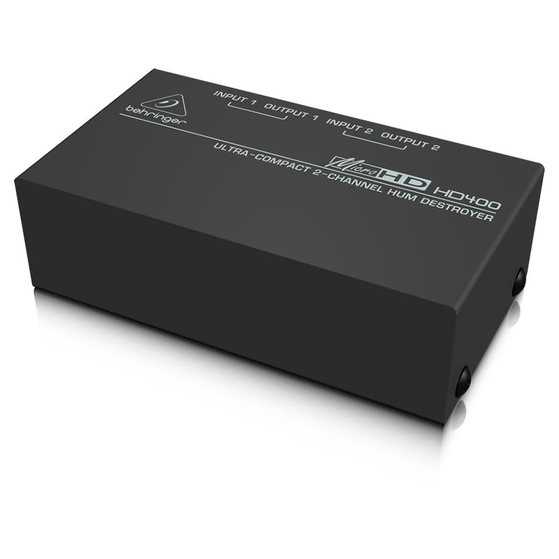 Директ-бокс Behringer HD400 MICROHD