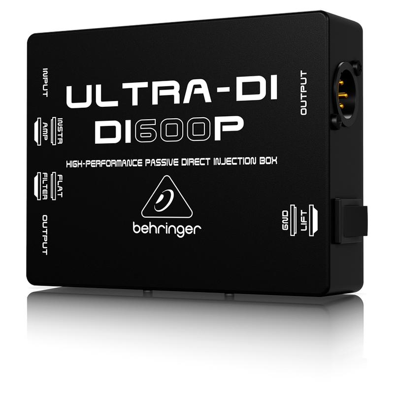 Директ-бокс Behringer ULTRA-DI DI600P