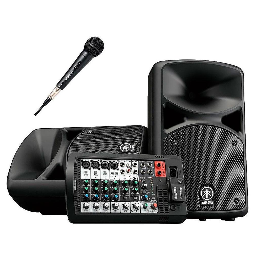 Портативная акустика Yamaha Stagepas 400BT 1M