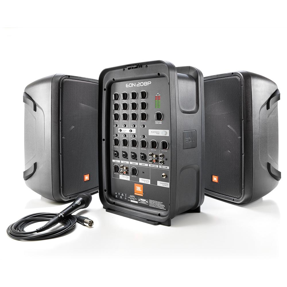 Портативная акустика JBL EON208P