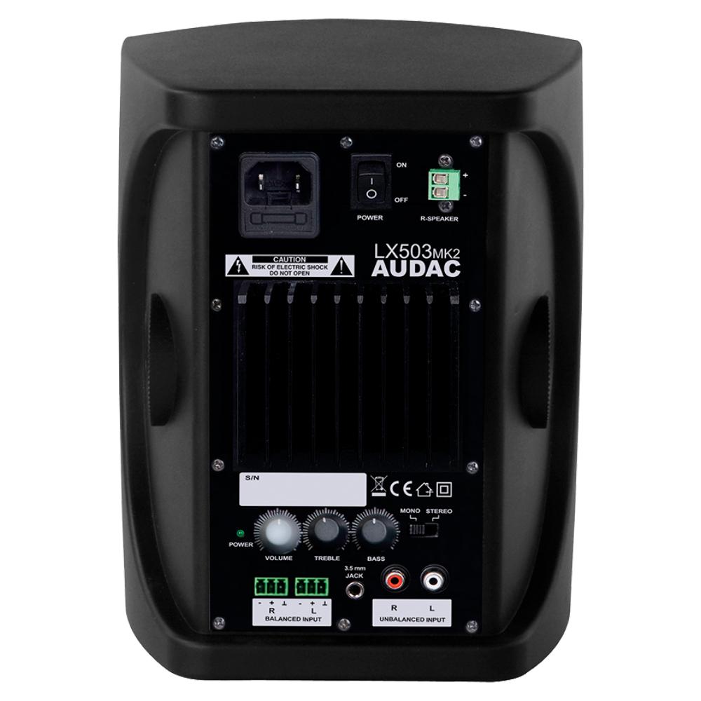 Активный 3-х полосный комплект Audac LX523/B