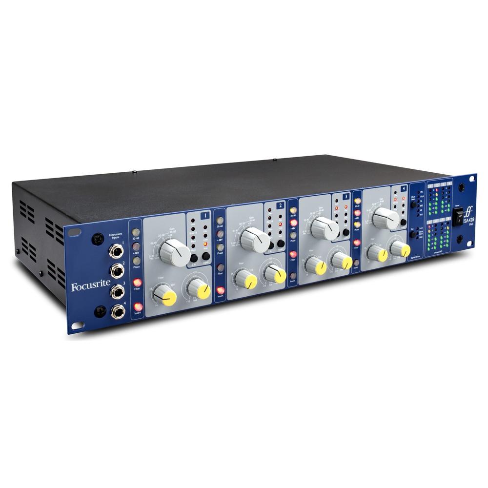 Микрофонный предусилитель Focusrite Pro ISA 428MK2