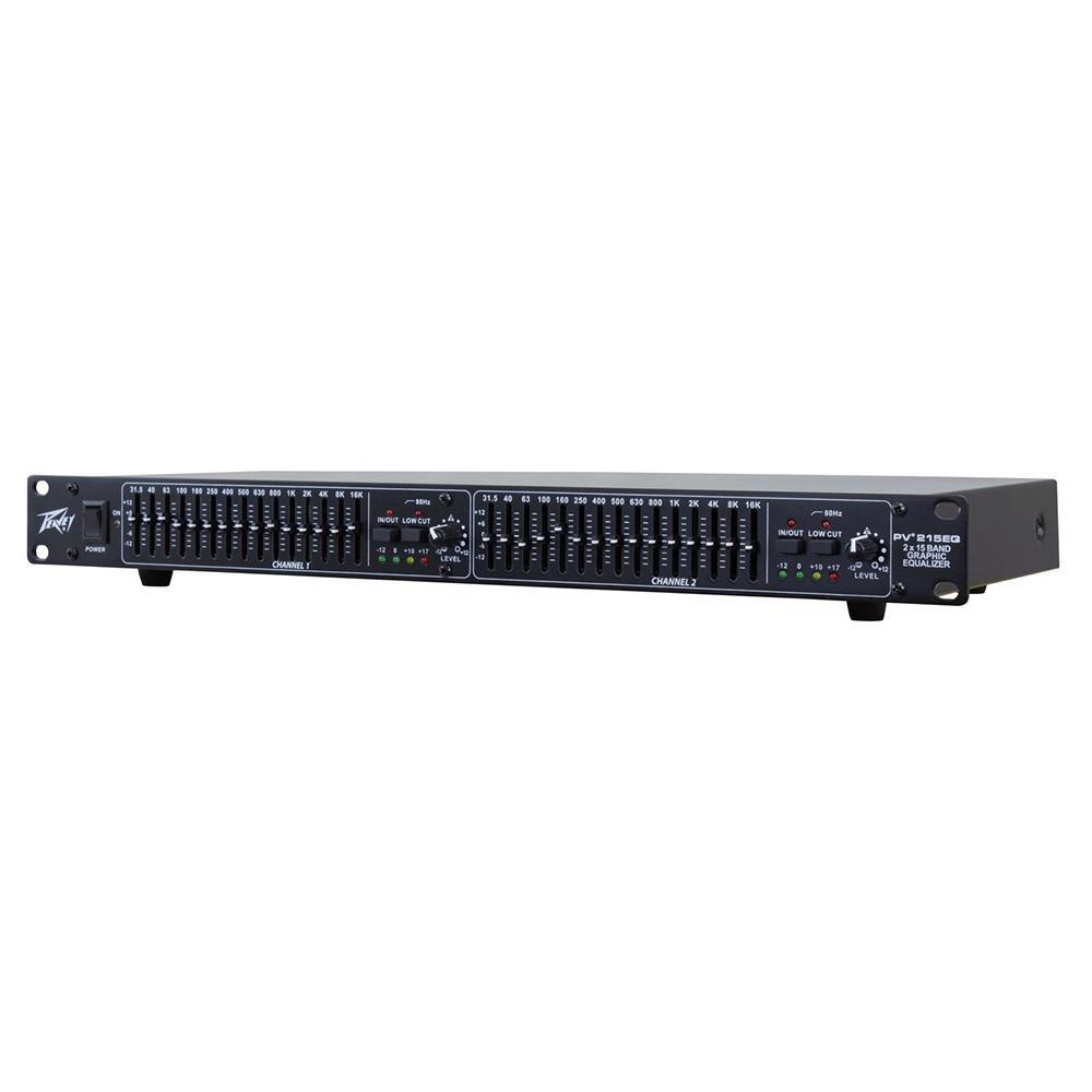 2-канальный 15-полосный эквалайзер Peavey PV 215EQ