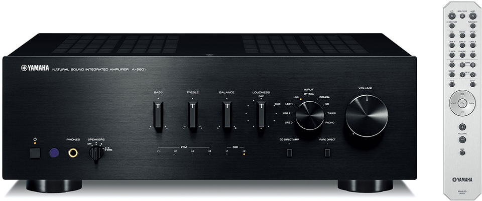 Стереоусилитель Yamaha A-S801 BLACK
