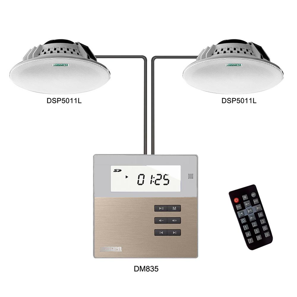Активный музыкальный комплект DSPPA DM835S