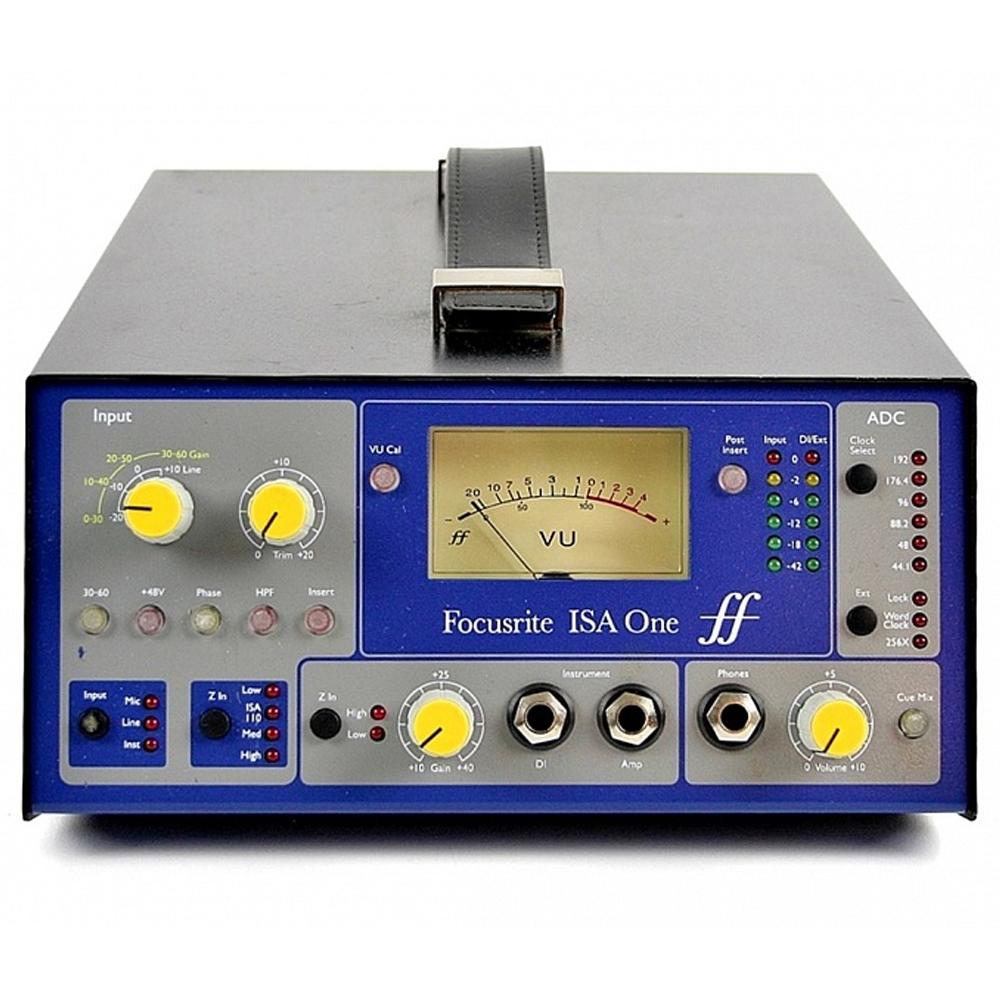 Микрофонный предусилитель Focusrite Pro ISA One Analogue