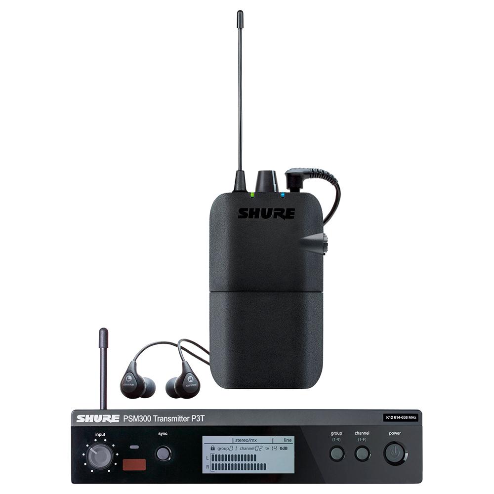 Cистема персонального мониторинга Shure P3TER112GR-R12