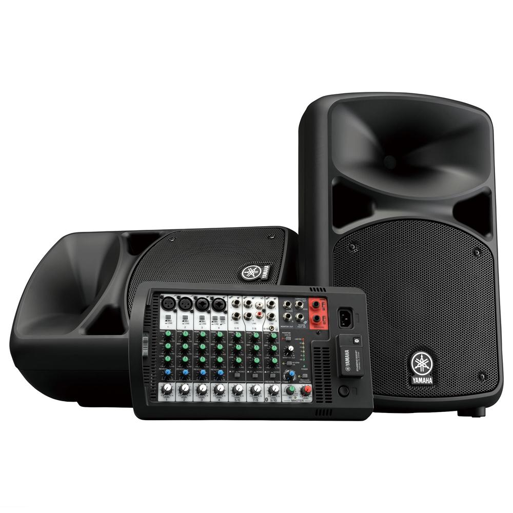 Портативная акустика Yamaha Stagepas 600BT