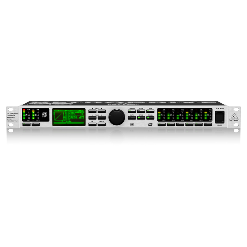 Аудиопроцессор Behringer DCX2496LE ULTRA-DRIVE PRO