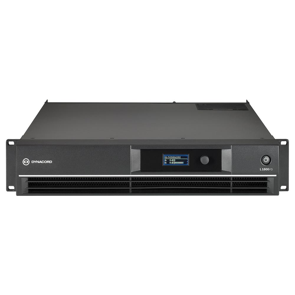 Усилитель мощности c DSP процессором Dynacord L1800FD