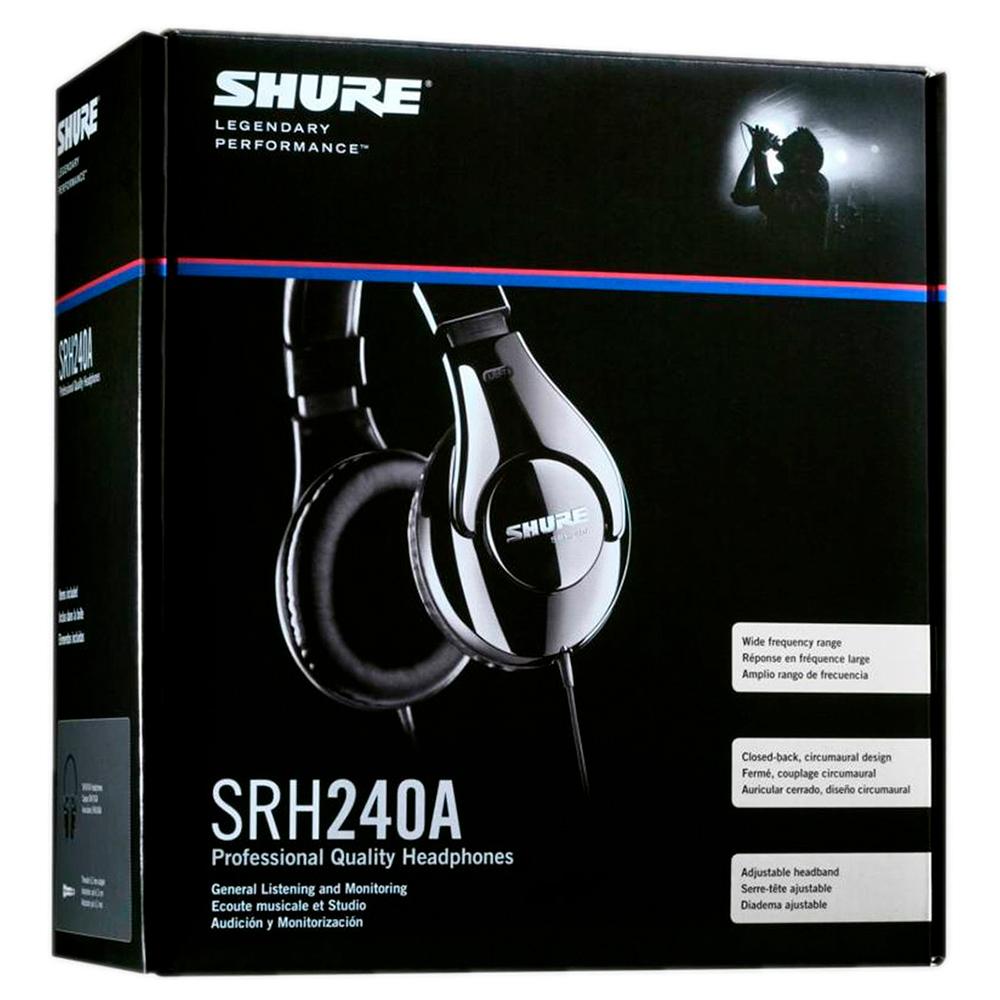 Охватывающие наушники Shure SRH240