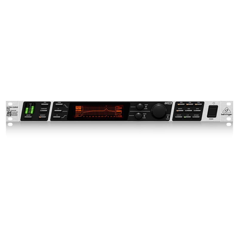 Аудиопроцессор Behringer DEQ 2496