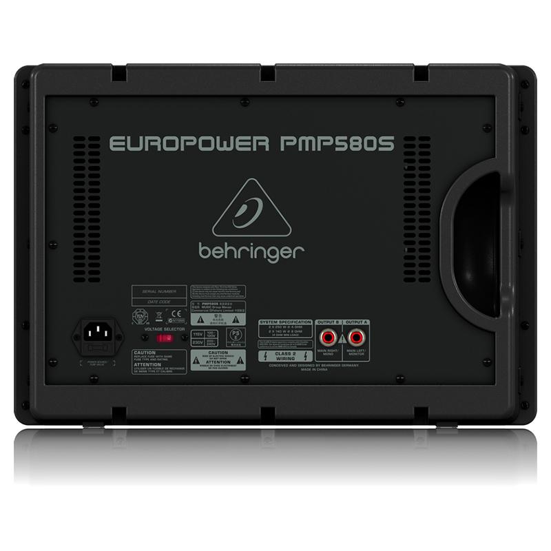 Микшерный пульт с усилением Behringer PMP580S