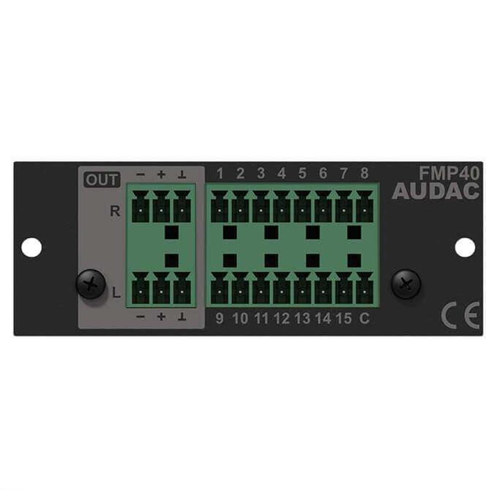 Голосовой модуль расширения Audac FMP40